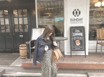 あのブランドの花柄スカートがSNSで可愛いと話題!!♡
