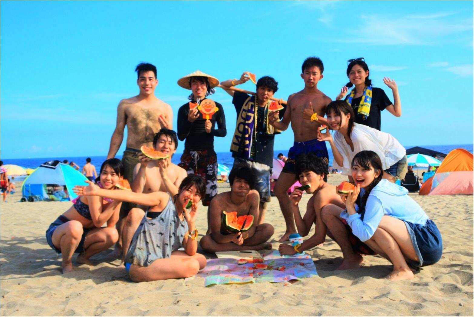 暑い陽射しの海も○○○があれば快適✨あの童謡で有名な【*御宿海岸*】で夏を満喫してきました♪_9