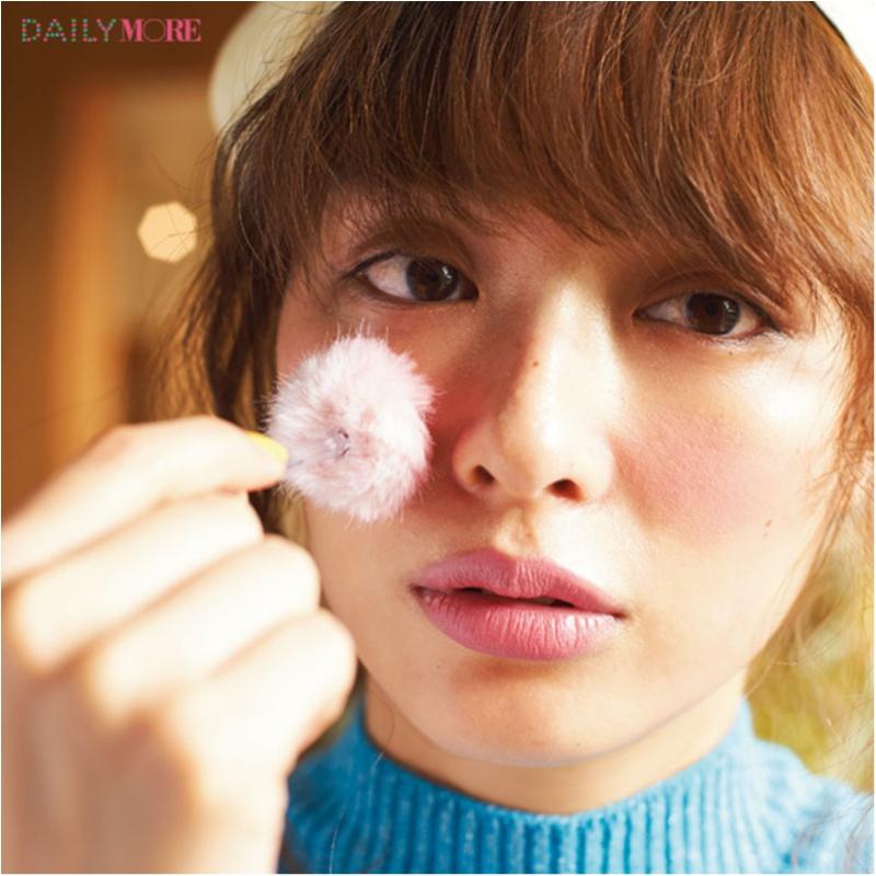 内田理央&イガリシノブさんが提案! 春は「恋するピンクチークメイク」で無敵フェイス♡_3_1