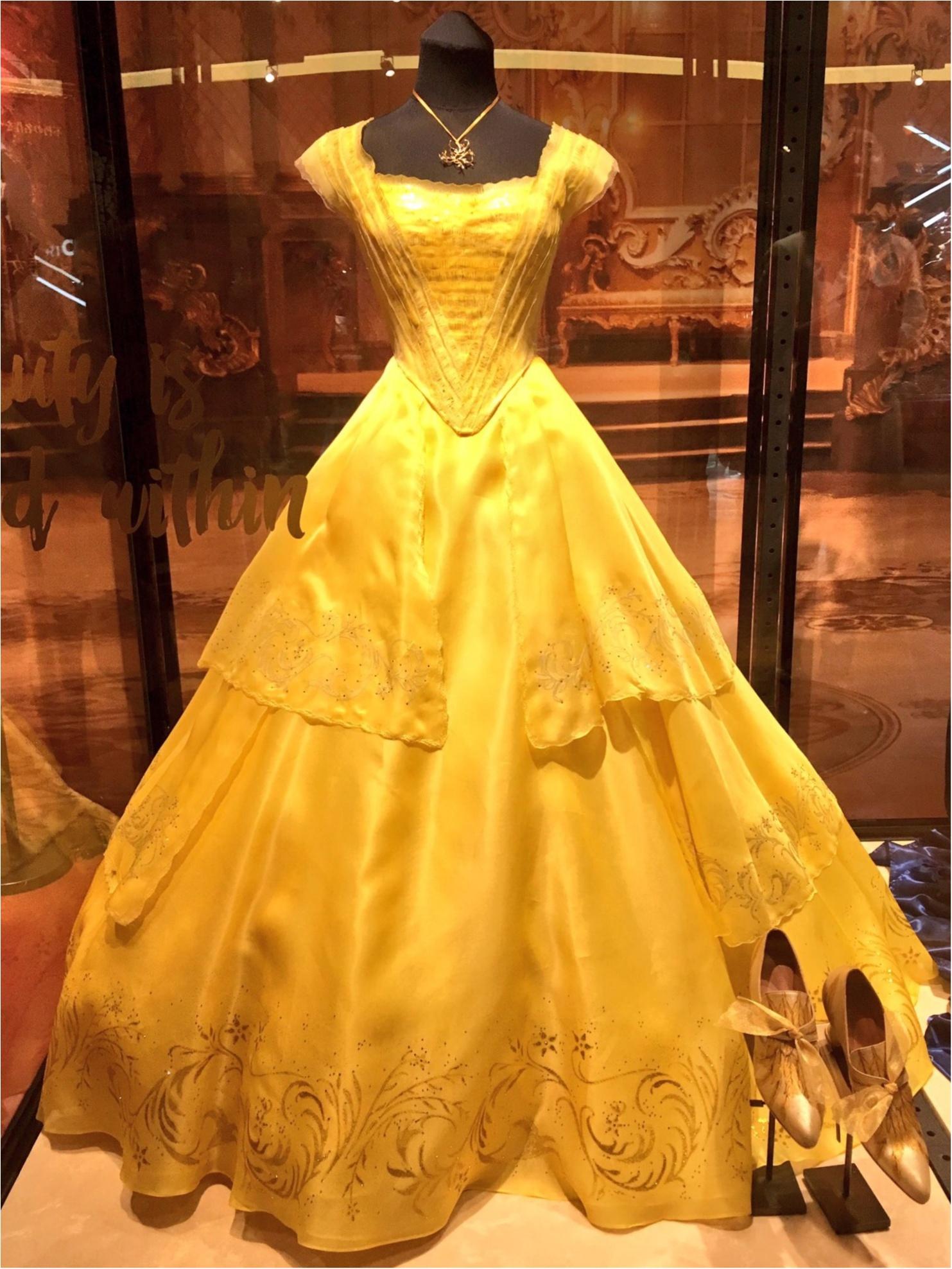 本物の衣装がついに来日!『美女と野獣』の世界展 at GINZA MITSUKOSHIに行ってきました♡_4