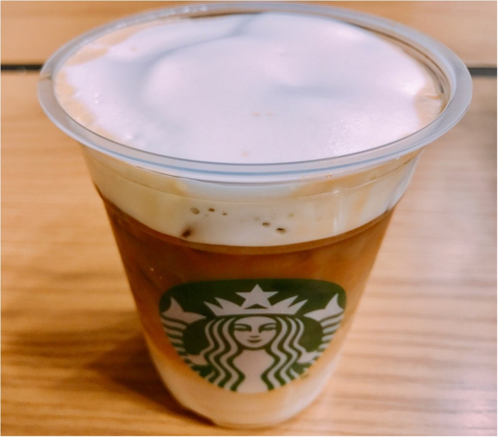 【スタバ新作】先行販売スタート!3月15日発売★《ムースフォームラテ》コーヒーなのに白い?3層のグラデーション&モコモコムース泡が驚きの味わい♡♡_1