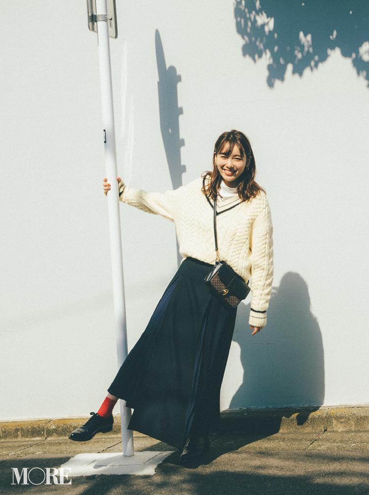 2018年秋のファッション ニット39