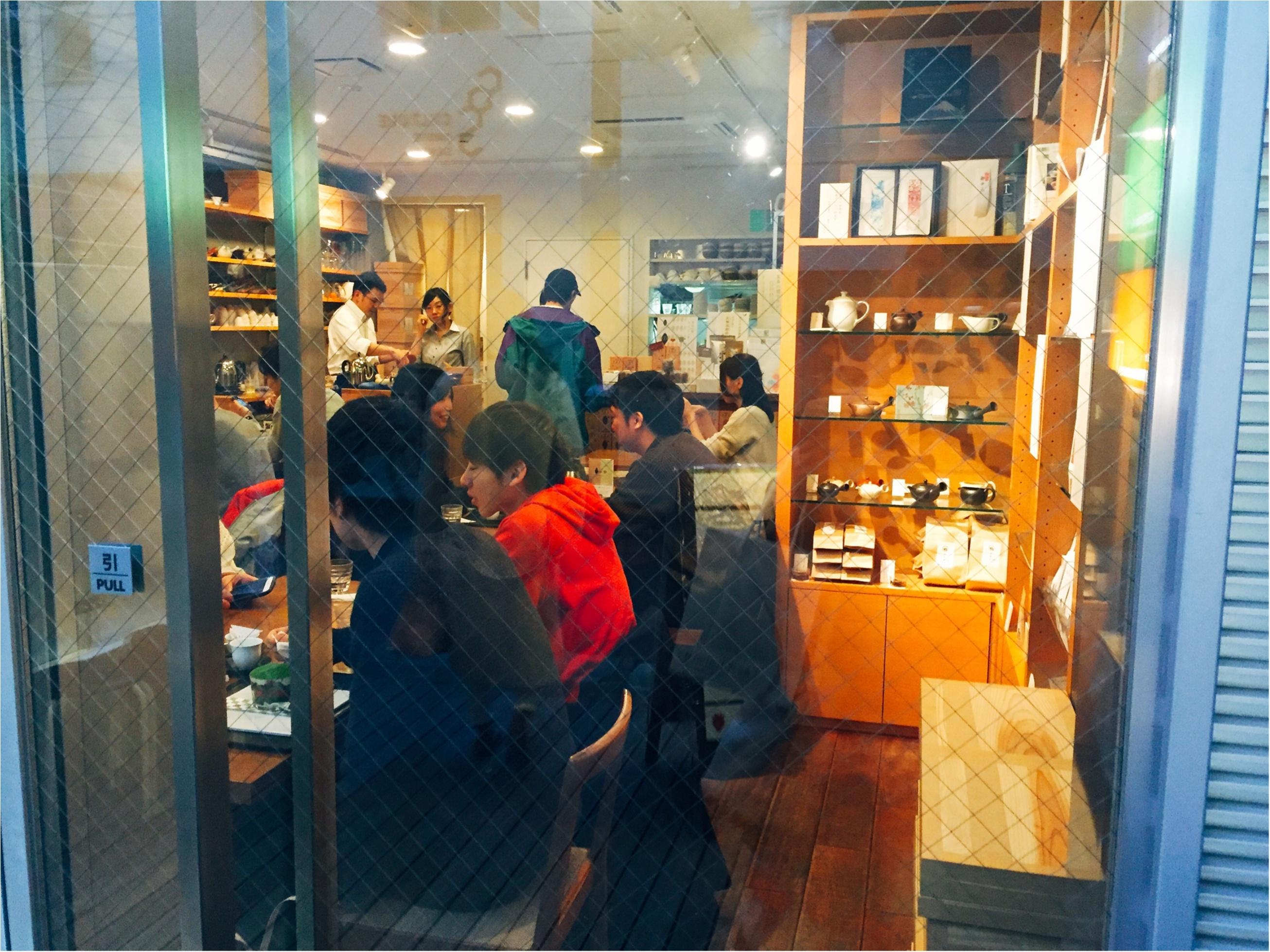 【表参道】日本茶が楽しめるカフェ♡期間限定《苺いり抹茶ティラミス》を食べに行きました♩_1_2