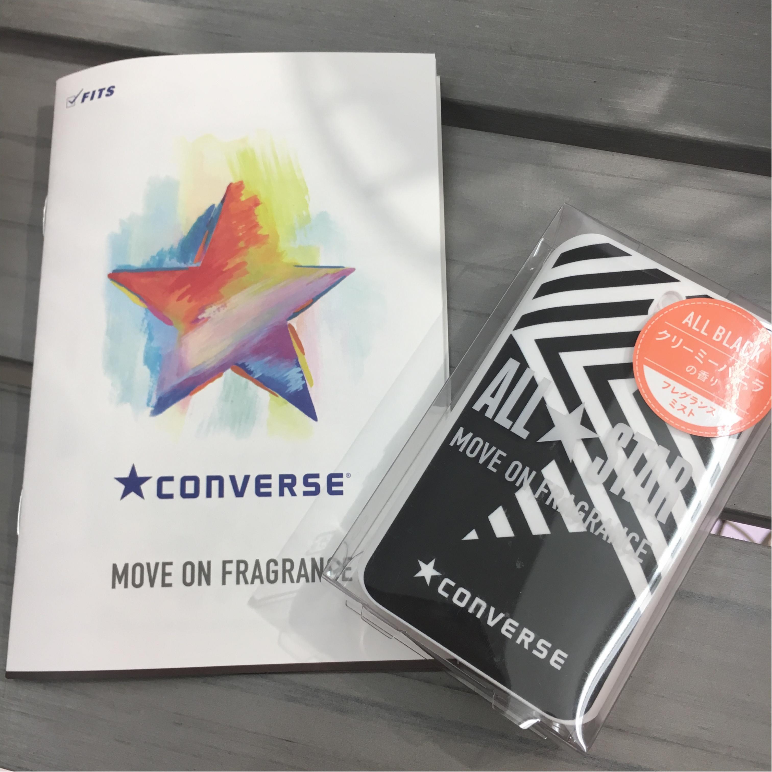 【コンバース】コンバースの香水?!6/22(金)発売の『CONVERSE MOVE ON FRAGRANCE』を早速ゲットしてきました♪_1