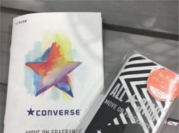 【コンバース】コンバースの香水?!6/22(金)発売の『CONVERSE MOVE ON FRAGRANCE』を早速ゲットしてきました♪