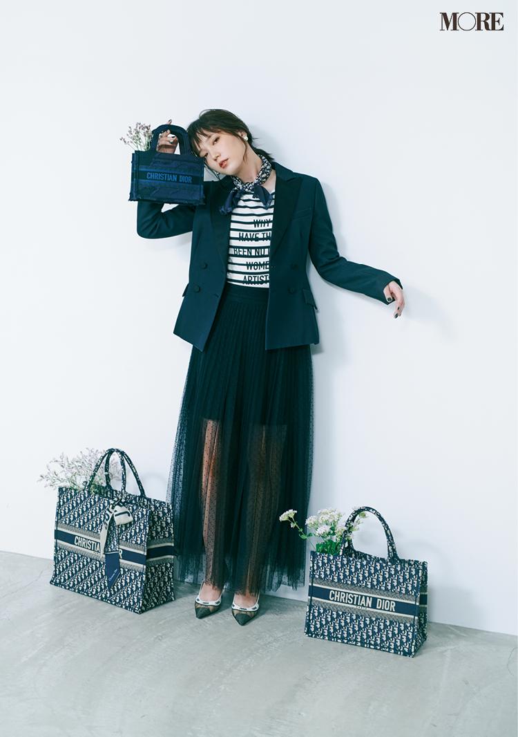 大人気3ブランド、二つ折り財布がイマドキ♪ 白い服で細見えを叶えるコツもCHECK【今週のファッション人気ランキング】_1_1
