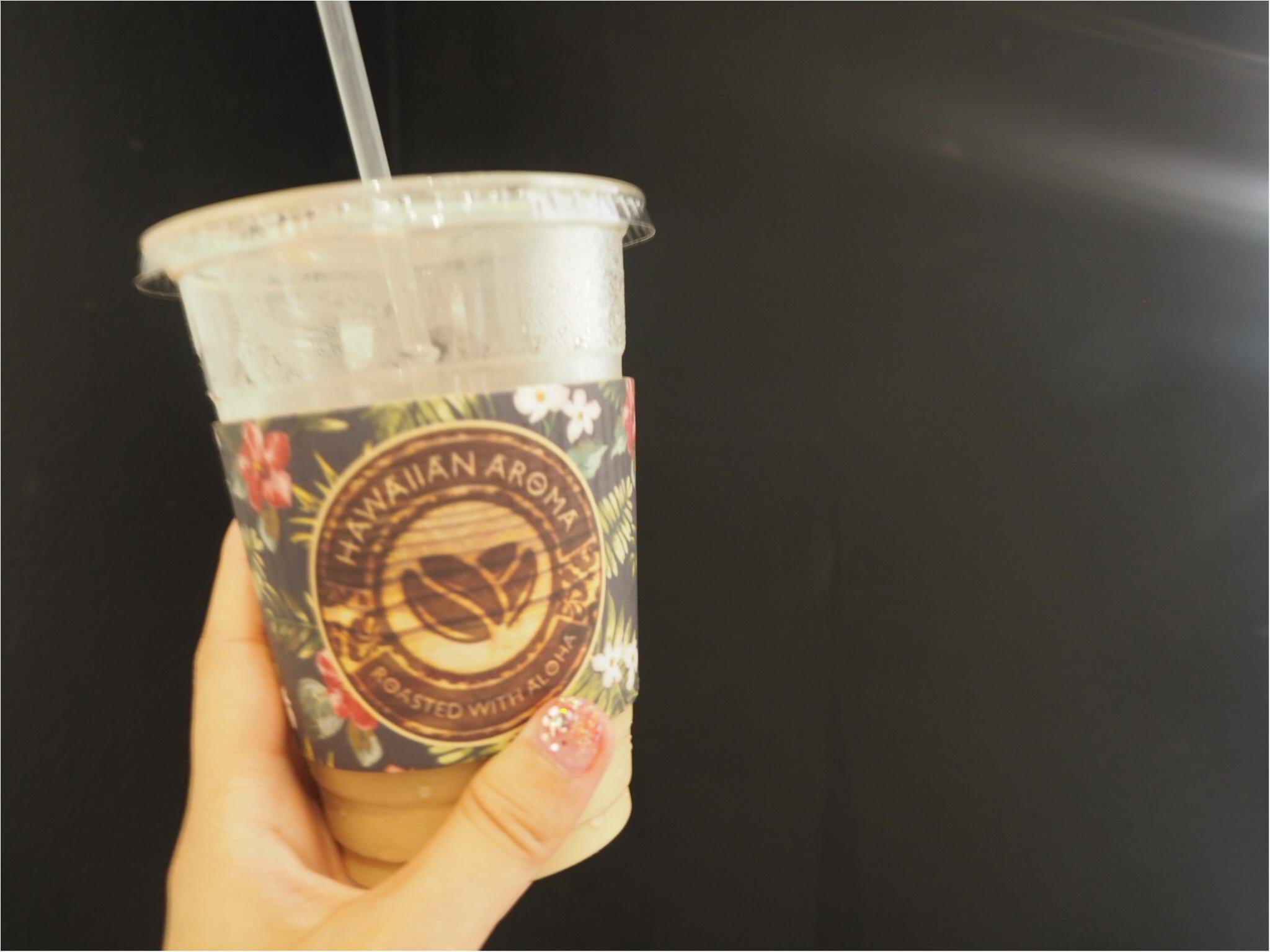 《今、ワイキキで一番オシャレでフォトジェニックなカフェ!》ハワイアン・アロマカフェでまったりブランチ♡♡(&旅行で役に立つプチ英語教室)_5