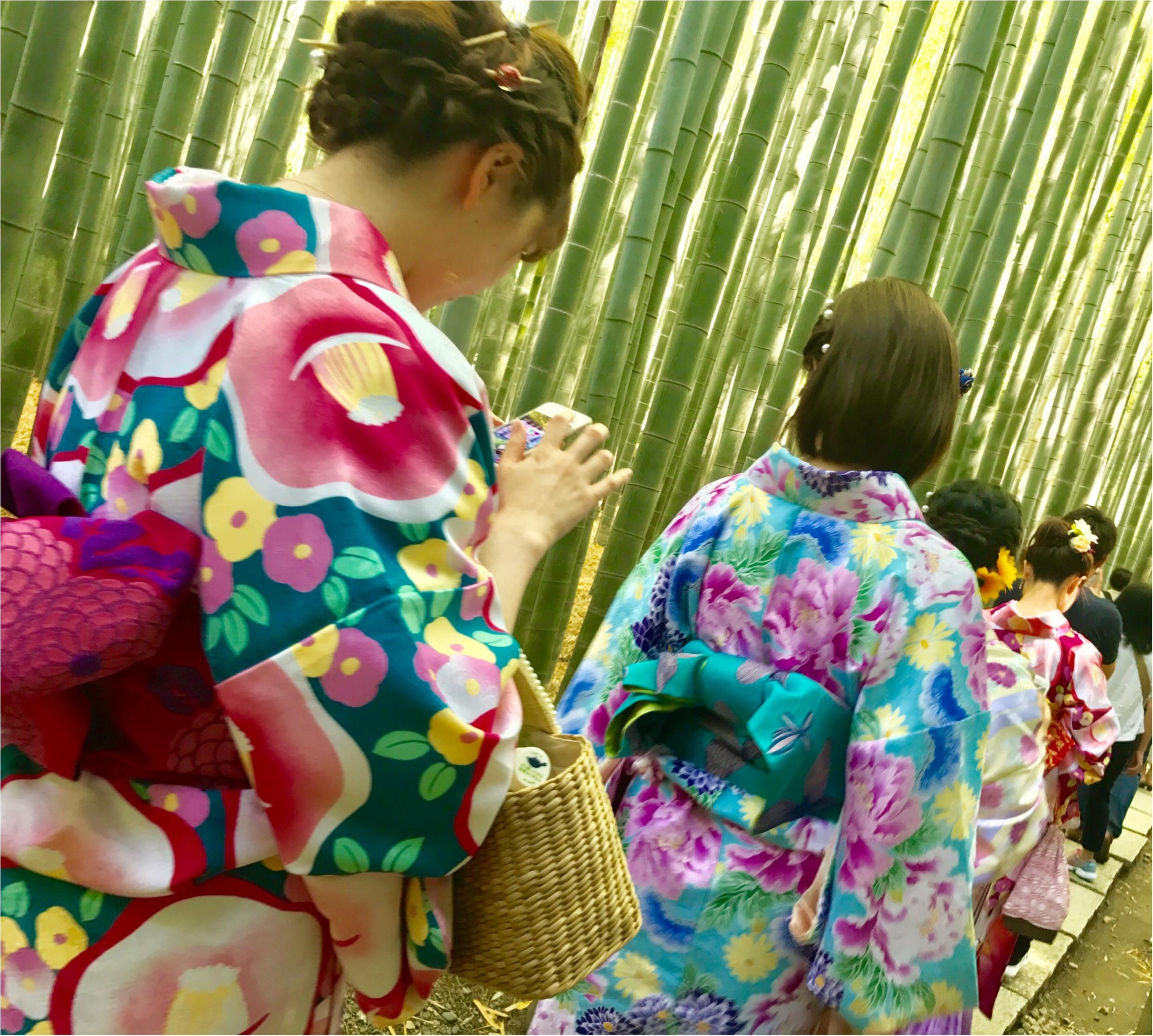 【鎌倉】着物で行きたいスポットNo.1♡フォトジェニックすぎる「報国寺」散策!_3