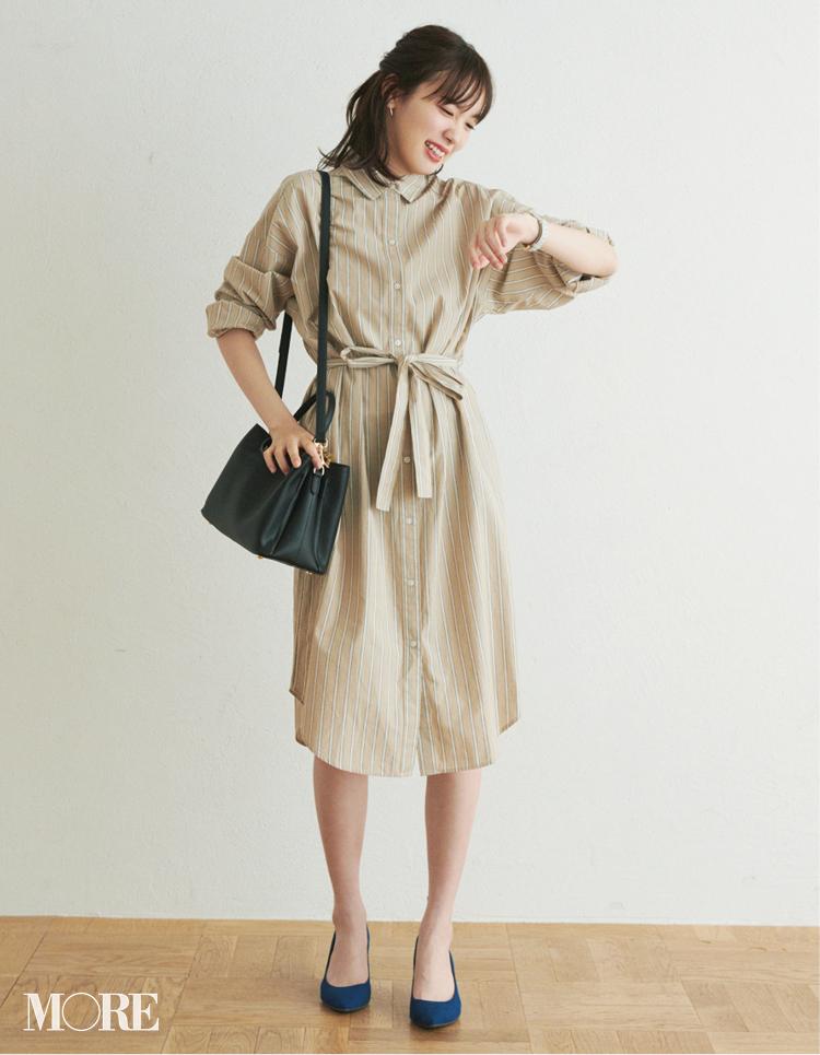 ベージュコーデ特集(20代後半女子向け)- 春におすすめのワンピースやスカート、靴などのコーディネートまとめ_34
