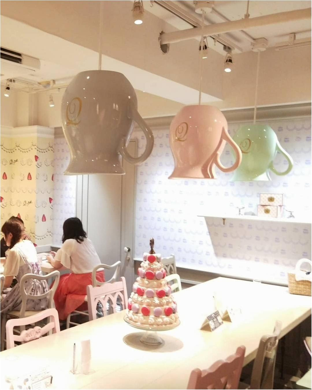 【表参道 Q-pot CAFE.】お菓子で溢れた店内で♡アクセサリーをモチーフにしたスイーツに舌鼓_3