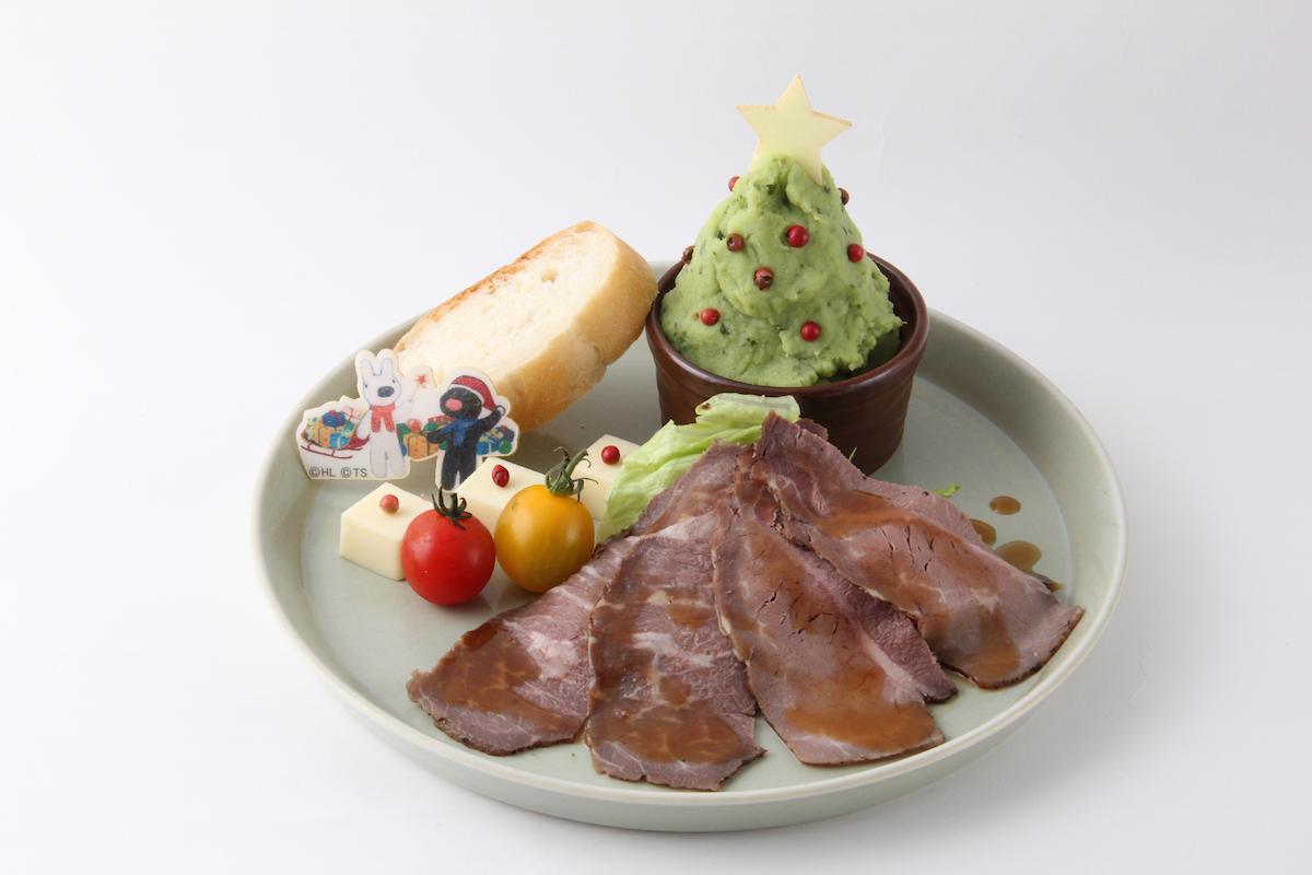 クリスマスは「リサとガスパール」と一緒❤︎ 『東京スカイツリー®』で、かわいすぎるコラボメニューを展開中!【12/25(月)まで】_1_1