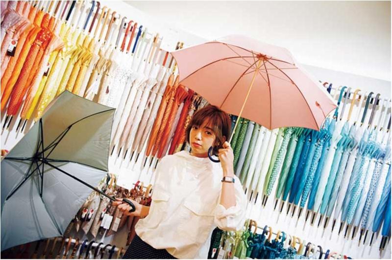 梅雨を楽しく♡ 話題の「自分だけの傘探し」にGO♪【佐藤栞里のちょっと行ってみ!?】_2