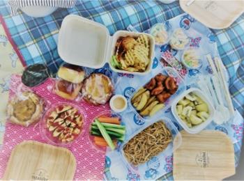 休日はピクニックとおしゃべりでリフレッシュ!♡