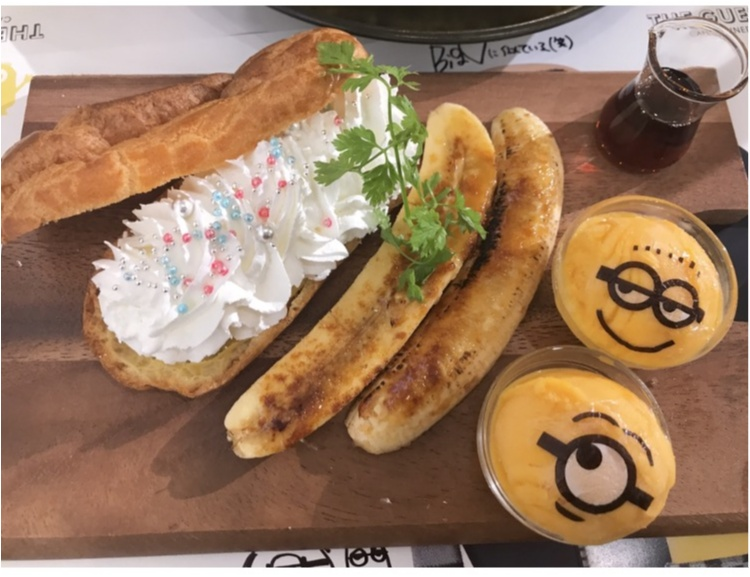 【FOOD】夏休みのおでかけに!怪盗グルーのミニオン大脱走 #ミニオンカフェ に行ってきました★_5