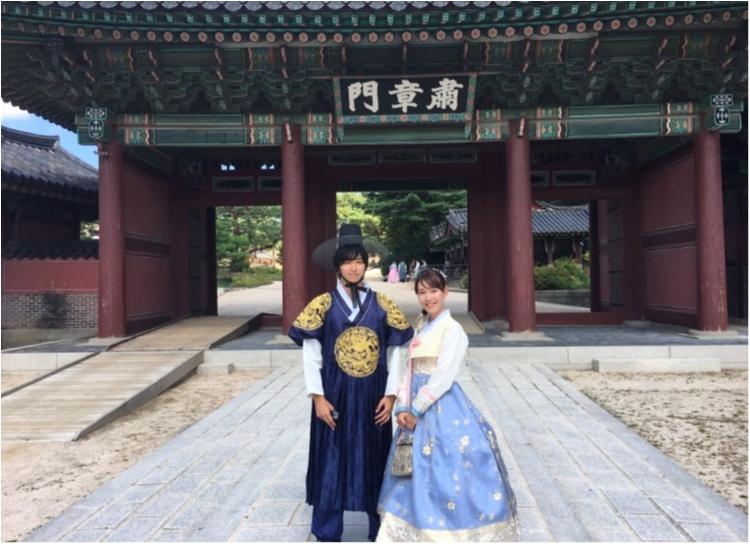 韓国に行ったら絶対おすすめ♡チマチョゴリでの景福宮ツアー♡_3