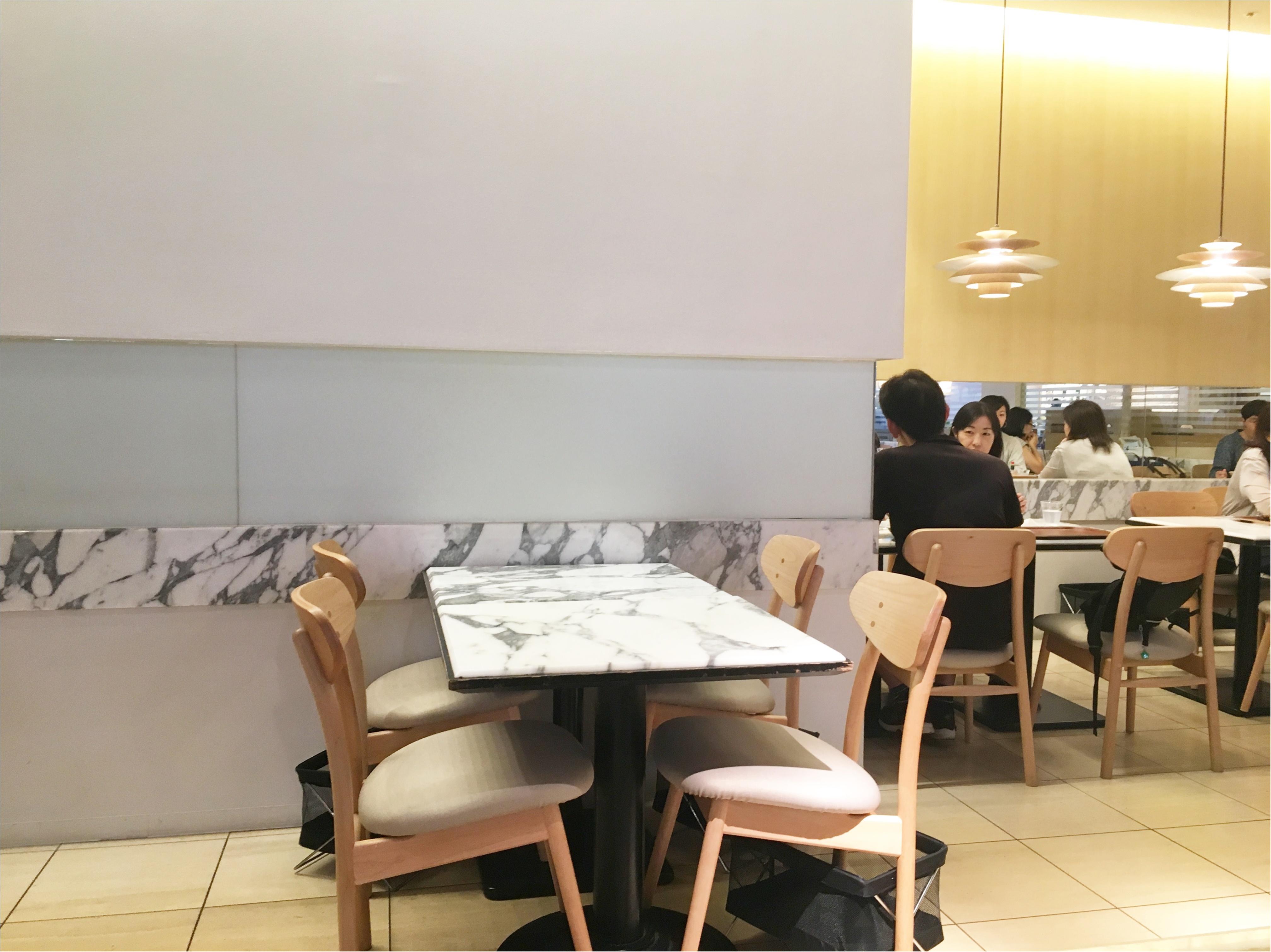 《インテリアショップKEYUCA(ケユカ)プロデュース!》横浜みなとみらいのカフェでランチ&スイーツ♡_2