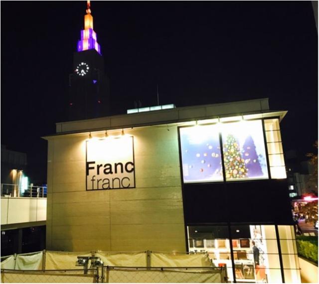 【Francfranc】新宿サザンテラス店が本日リニューアルオープン★_1