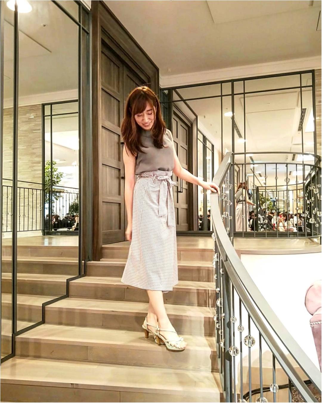 【ZARAセール】チェック柄ラップスカートが1000円台!ハイウエストデザインがお気に入り!_2