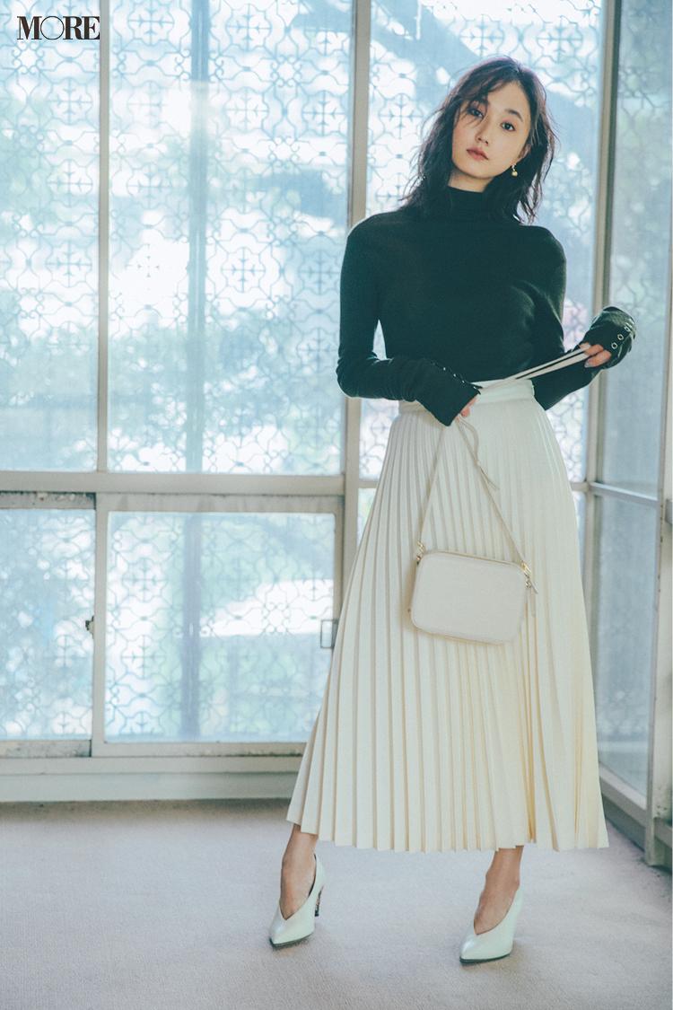秋コーデ特集《2019年版》- トレンドのブラウンや人気のワンピース・スカートでつくる、20代におすすめのレディースコーデ_16