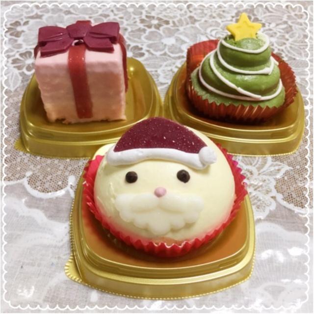 【コンビニスイーツ】インスタ映え間違いなし♡かわいいクリスマスケーキに大注目!【セブンイレブン】_1