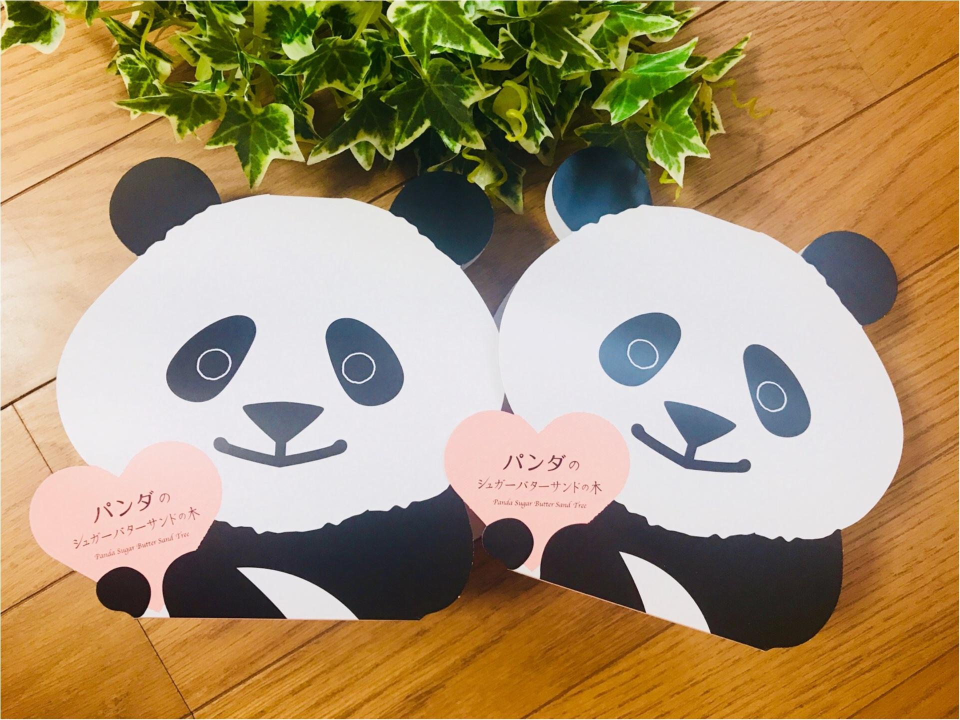 """【帰省土産】はコレで決まり!""""パンダ""""モチーフの《シュガーバターサンドの木》♡_3"""