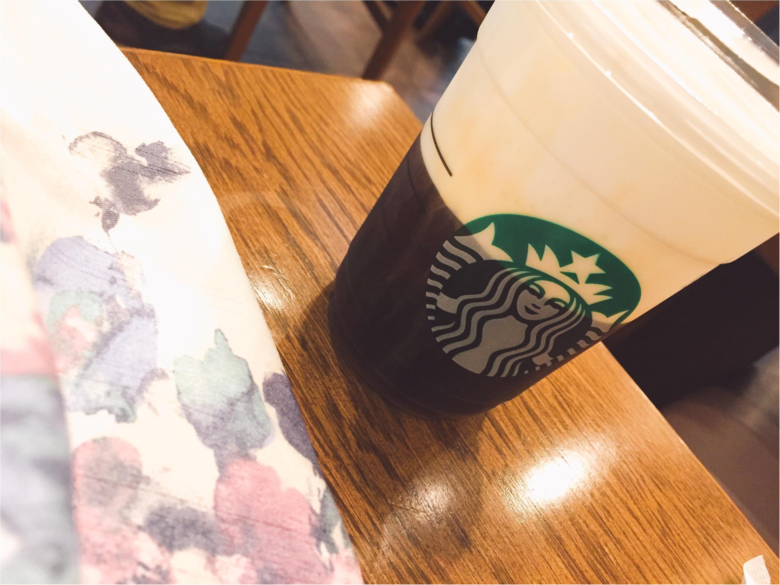 【スタバ】ブラック派でも楽しめるアレンジコーヒー!コールドブリュー ムース フォーム ヘーゼルナッツ☆_1