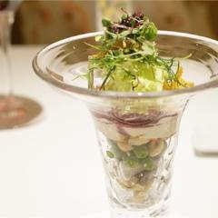 大人気の野菜パフェ&話題の演出デザートも!あのモダンフレンチでお祝いランチをしてきました♡