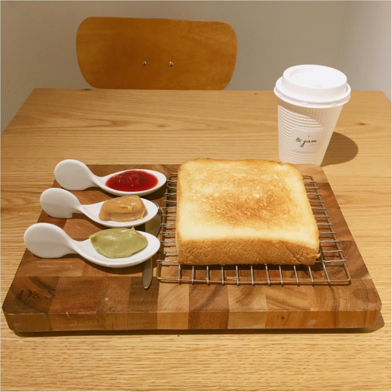 「まるで宝石のよう」16種類のジャムが絶品♡高級食パンとジャムが楽しめるカフェ《& jam(アンドジャム)》に行ってきました♡♡_4