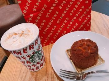 【スタバ】絶対食べて!新作クリスマスフード《ショコラディスカバリー》が絶品♡