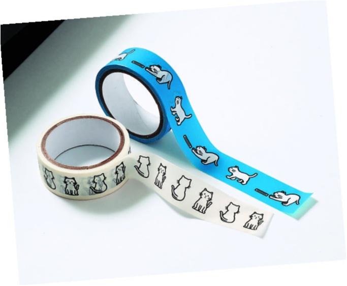 モア9月号の付録は「17℃」のらくちんフットカバーと集英社文庫のニューキャラ「よまにゃ」のマスキングテープです!_3