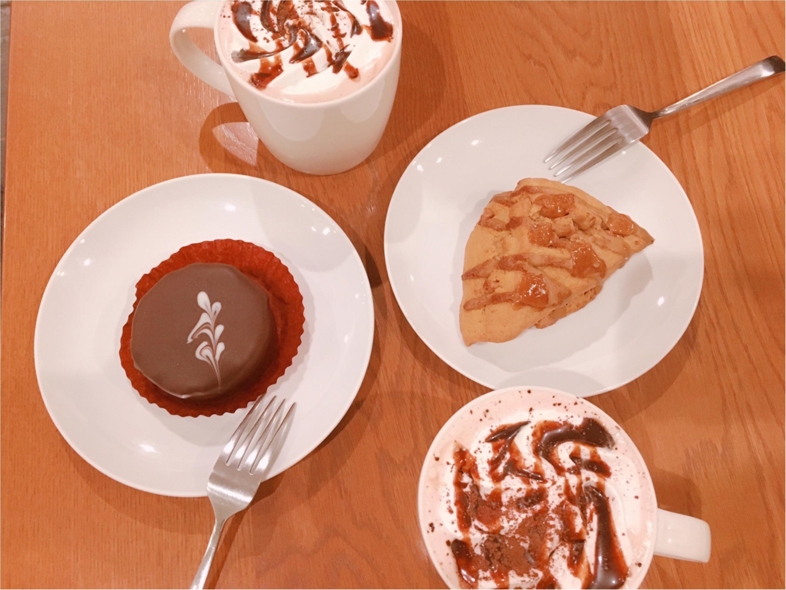 【スタバ】バレンタイン新作『チョコホリック ココ』と店員さん考案『アメリカンスコーン キャラメルトフィー』がついに登場!_1