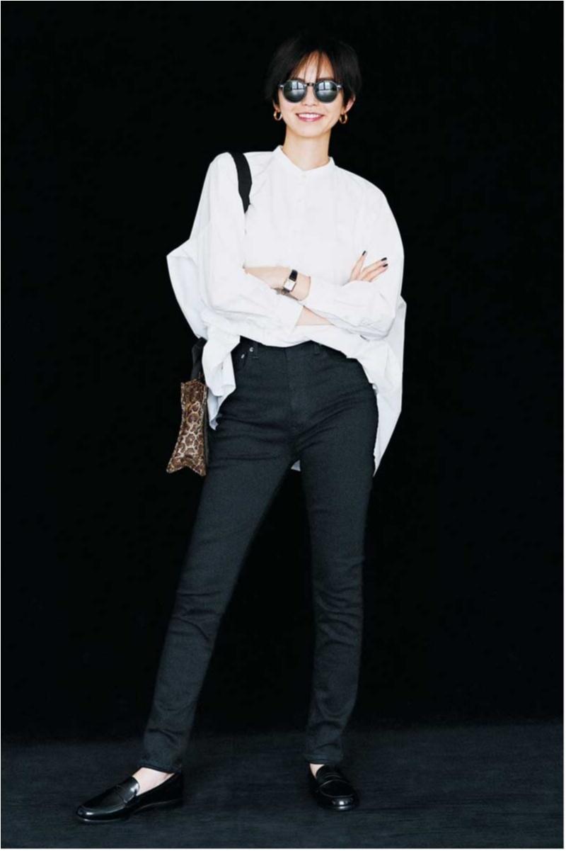 2018年秋のデニムファッションコーディネート3