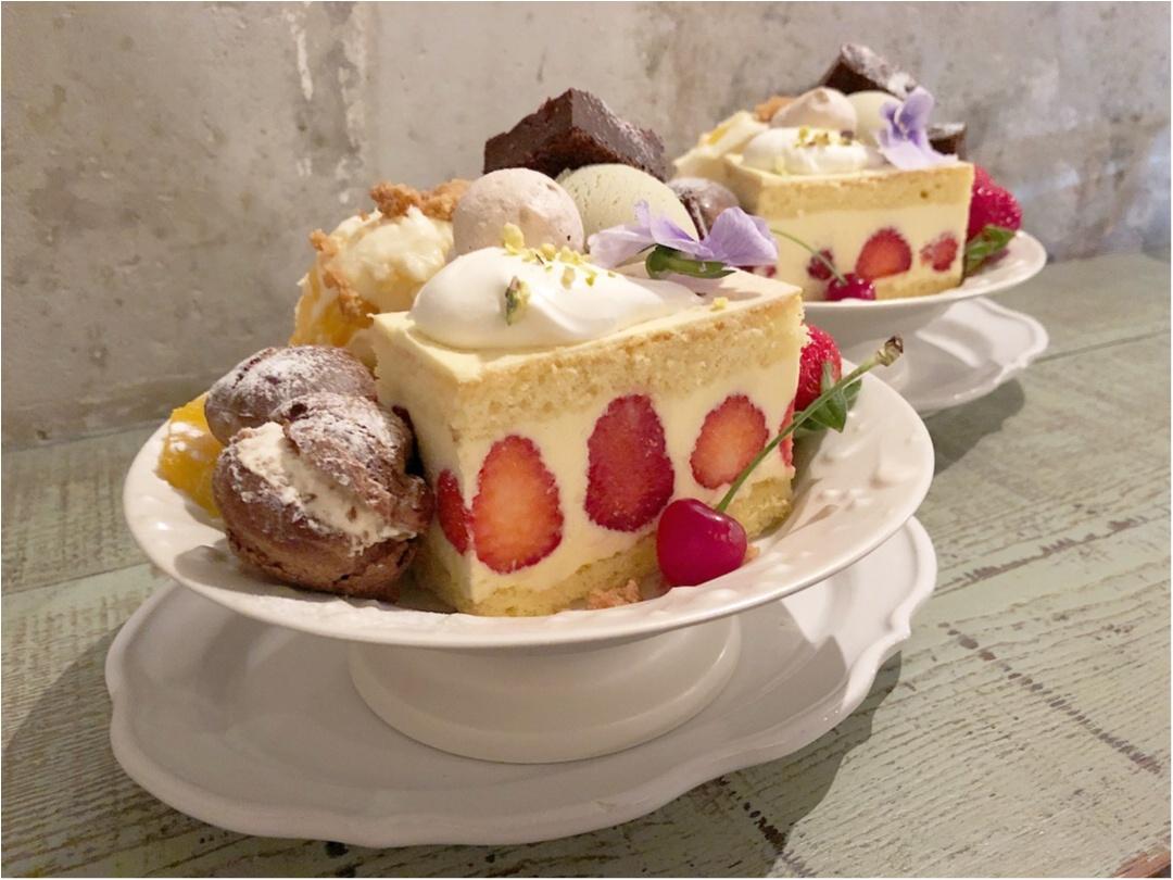 かわいすぎる♡ 人気カフェkipfel・さんの『3周年のアニバーサリーパフェ』でお祝いしてきました♡♡_3