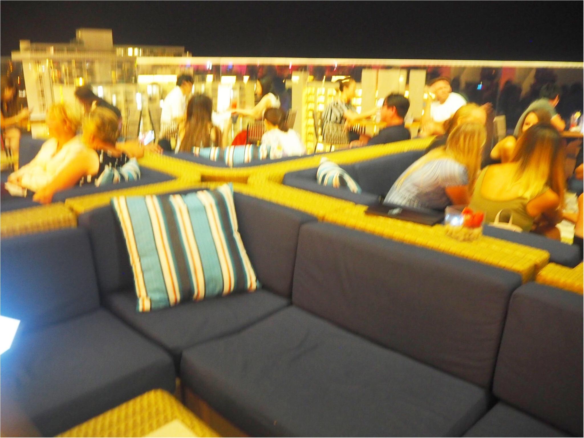 開放感あふれるテラスが魅力♡バーレストラン【SKY Waikiki】でディナー!毎週金曜のヒルトンの花火は見られるの?お答えします‼︎_2