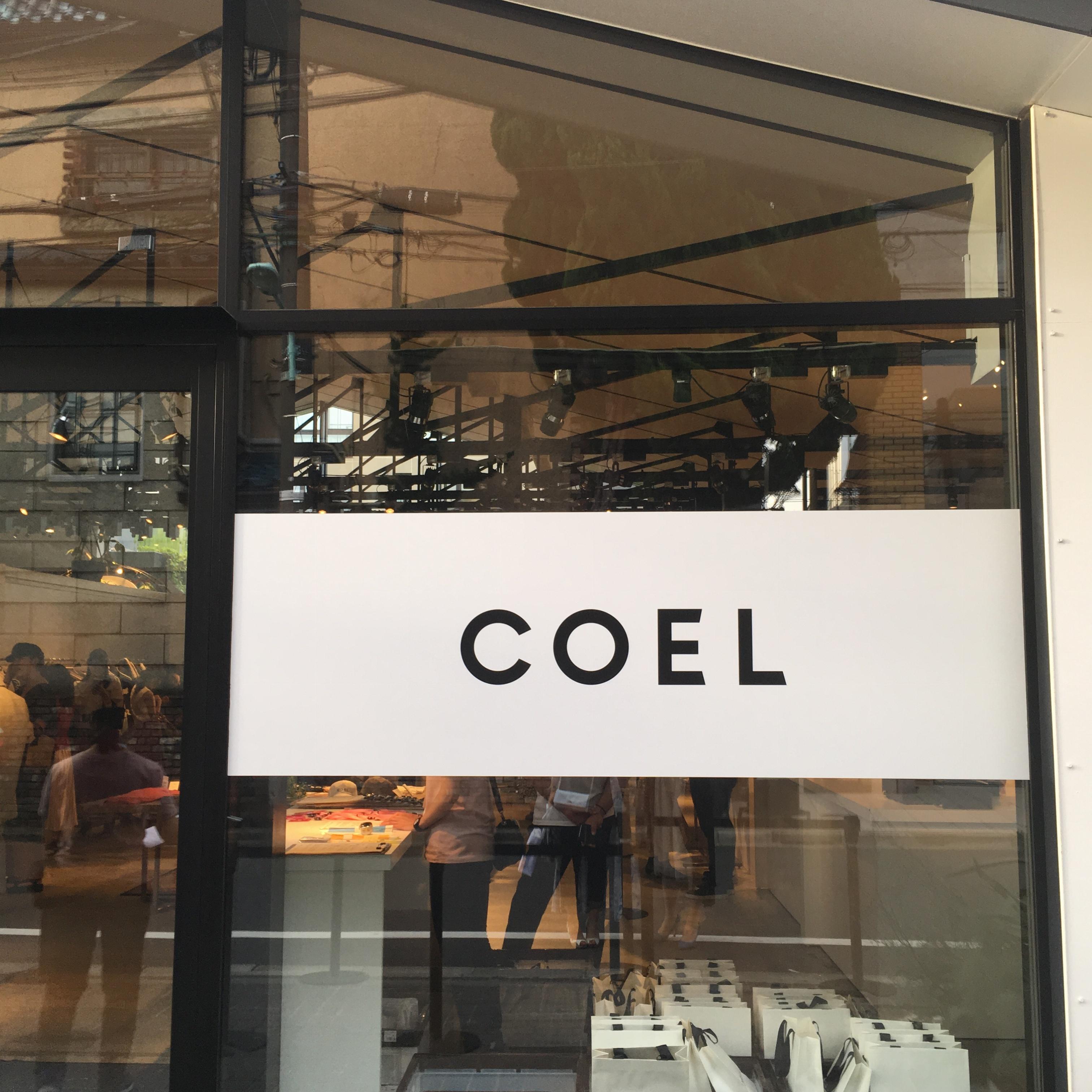 """モデル*ヨンアちゃんディレクションのブランド""""COEL""""のデビューコレクション/ポップアップストアに行ってきました!♡_1"""