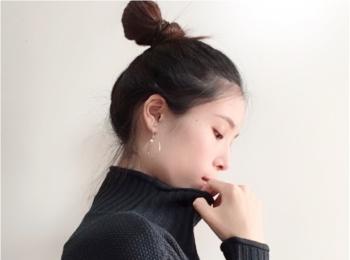 ボリュームシルエット【ざっくりニット】が着たい季節に♡