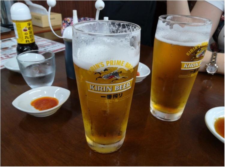 【ご当地モア♡関東】宇都宮で餃子三昧!暑さに負けない餃子とビールの最強コンボ♡♡_5
