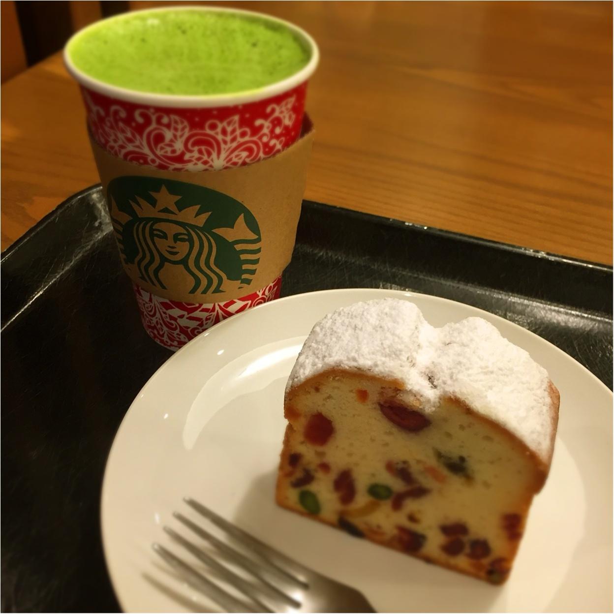 【*スタバでクリスマス*】を満喫するなら♪♪伝統的なお菓子と和のコラボを味わいたい♡_2
