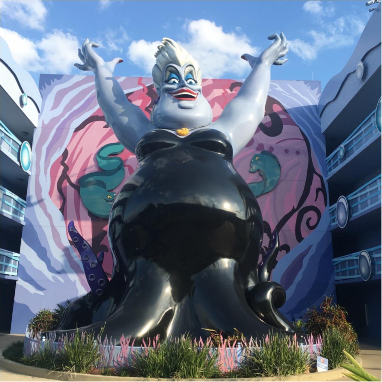 【WDW旅行 】夢の国に泊まりたい!キャラクターいっぱいでかわいい♡ディズニーアートオブアニメーションリゾートホテル ♪_2