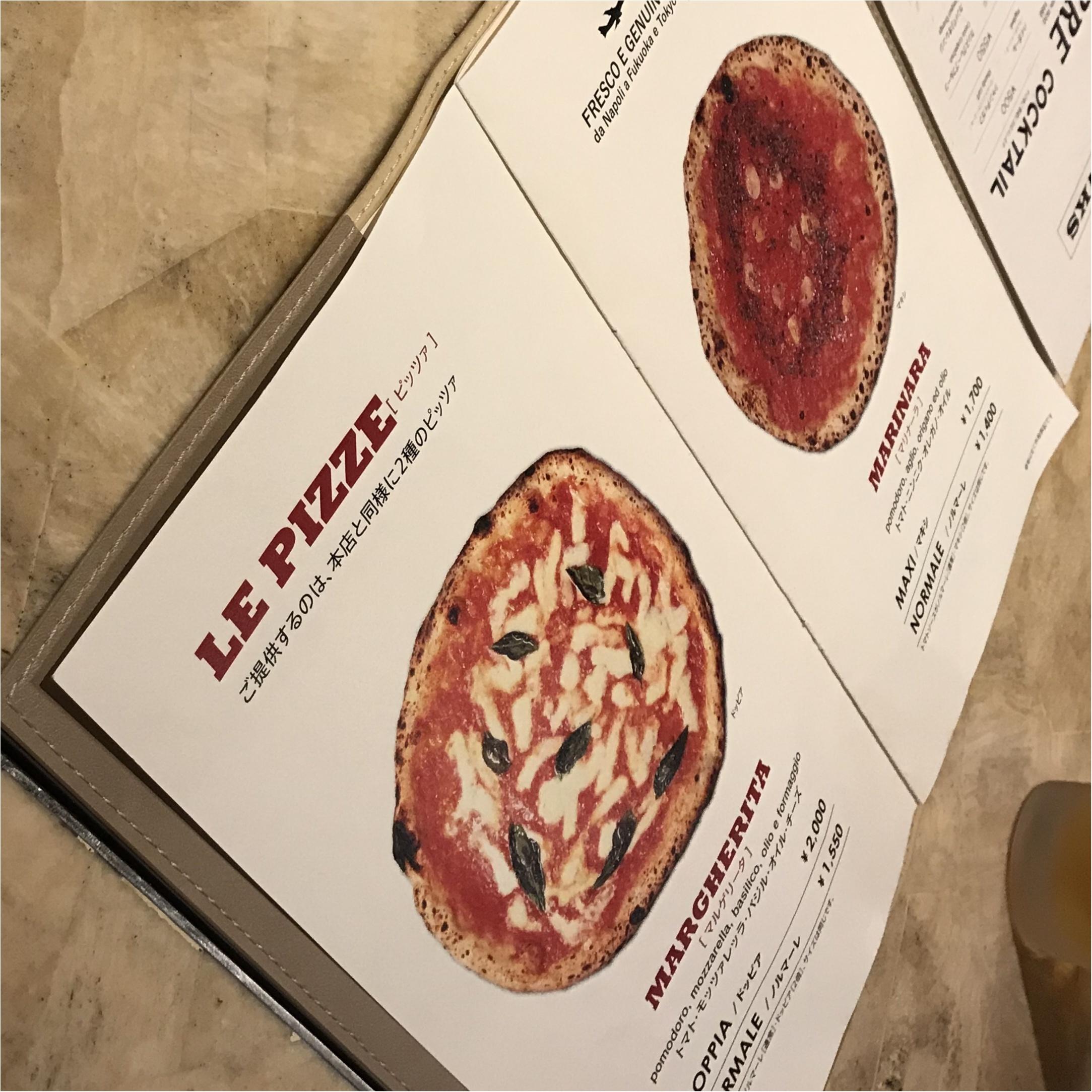 【グルメ】あのジュリア・ロバーツも食べた?!ナポリで行列の出来る有名店の第3号店が福岡に♡_2