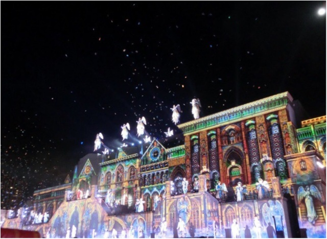 《USJクリスマス》クリスマスショーの「天使のくれた奇跡」がグランドフィナーレ♡_2