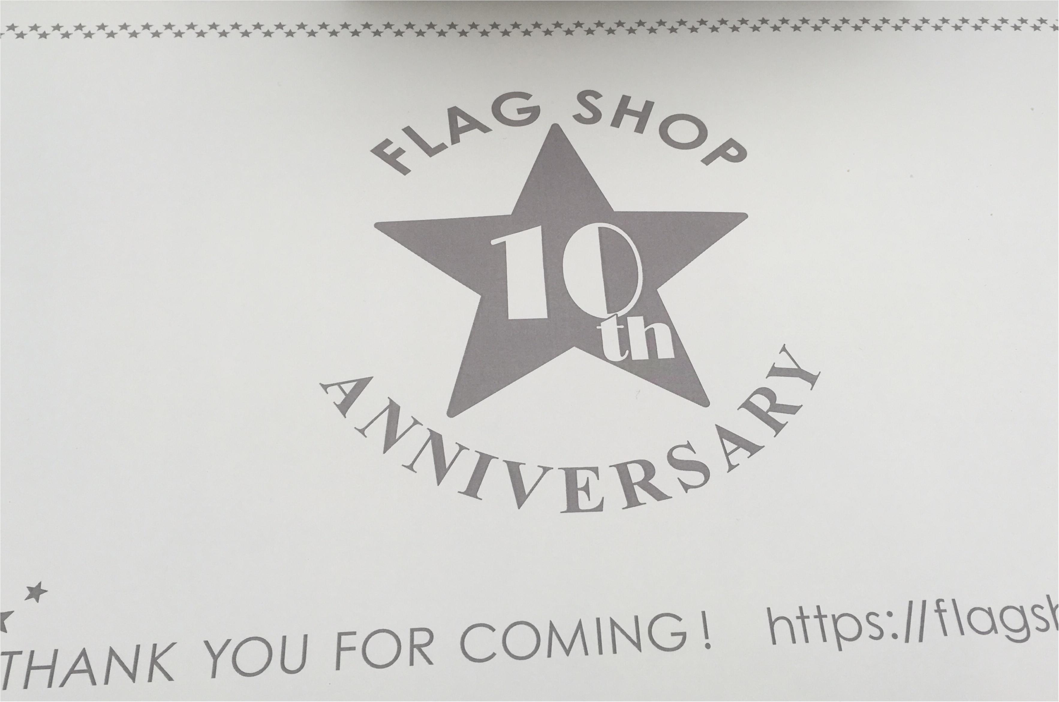おめでとう〜★FLAGSHOP10th★佐藤ありさトークショーも♡モアハピ部のみんなと参加させていただきました^ ^_1