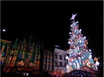 《USJクリスマス》クリスマスライブショーの「天使のくれた奇跡」がグランドフィナーレ♡