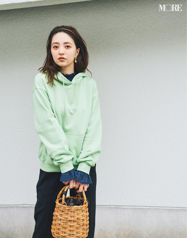 『GU』ならニットの重ね着が、1780円でこんなに素敵!! この秋はレイヤードをプチプラで♬_4