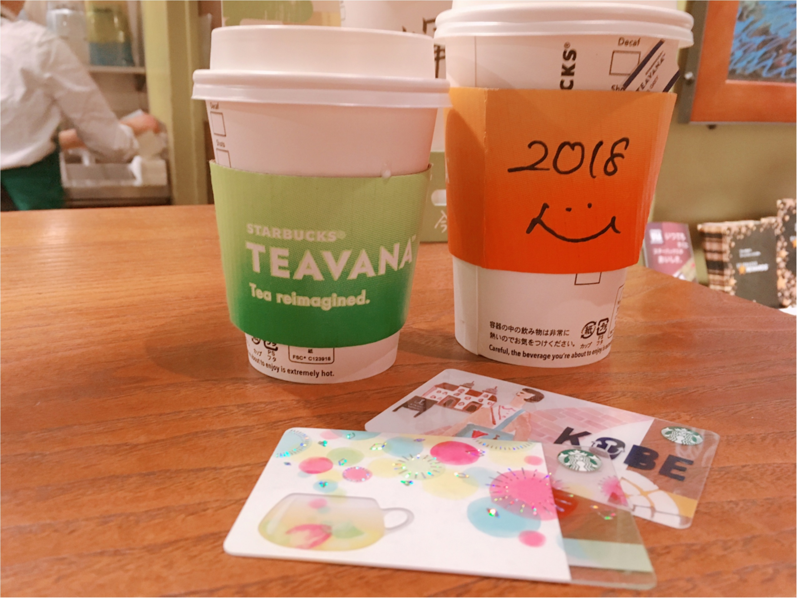 【スタバ】紅茶派さんにオススメ!ロイヤルミルクティー風0円カスタム&TEAVANA新カードがかわいい♡_4