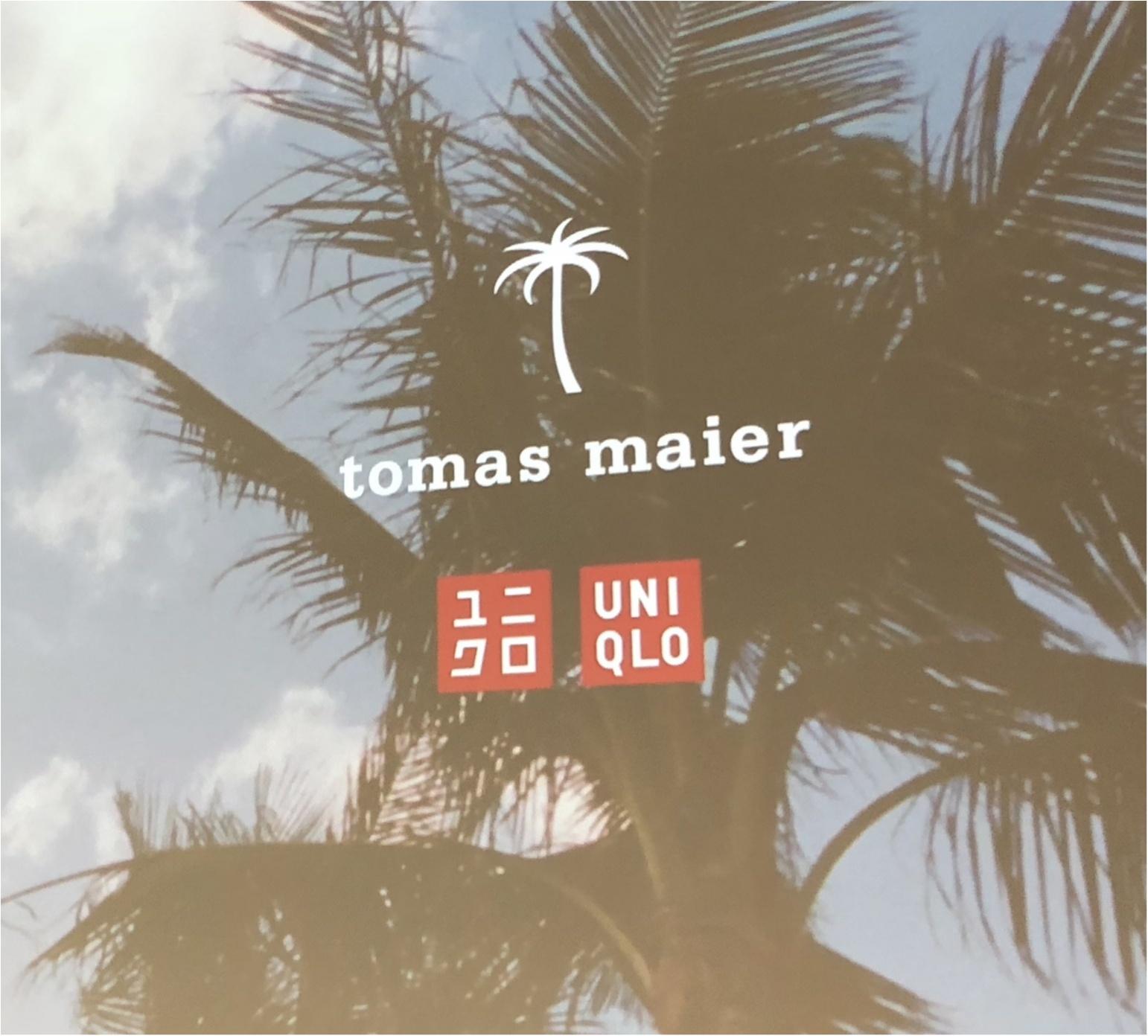 『ユニクロ』初のリゾートウェアコレクション『tomas maier and uniqlo』のショーに潜入☆【5/18(金)発売予定】_2