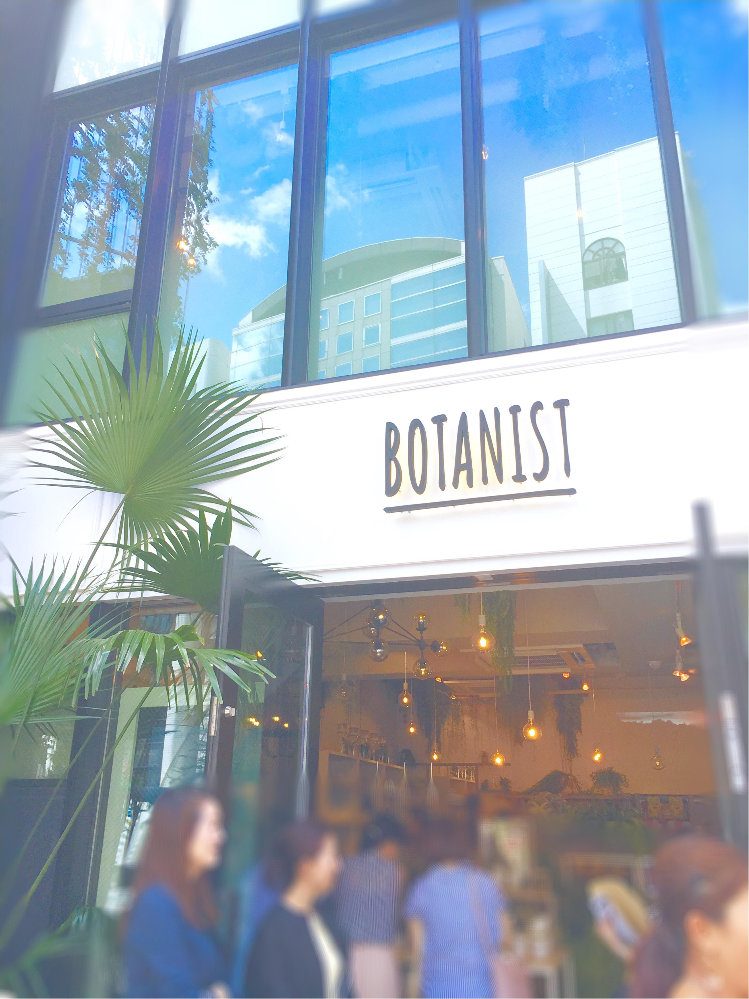 ついに明日オープン!初のフラッグシップショップ【BOTANIST Tokyo】を一足お先にチェックしてきました❤️_1