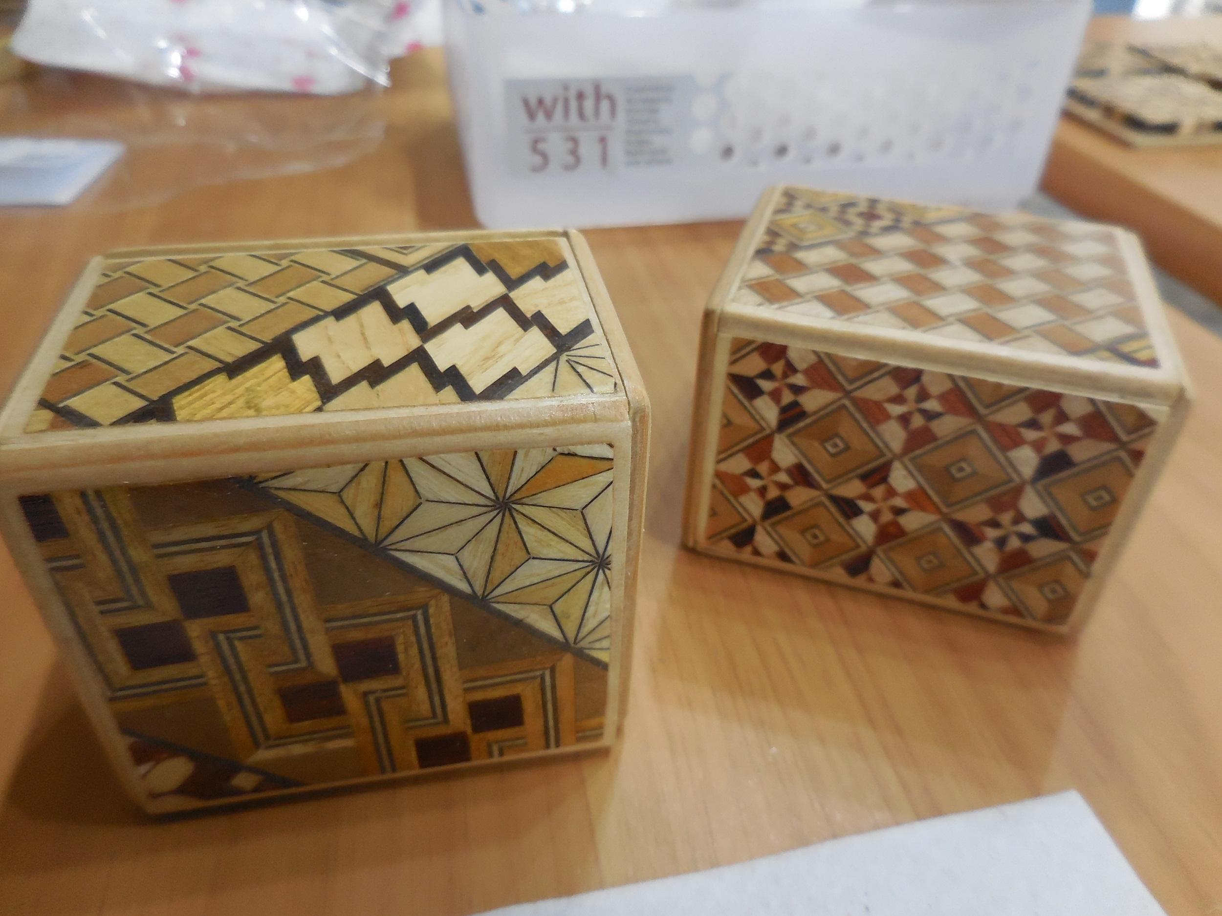 【箱根・寄木細工】秘密箱の工作体験をしてきました。_6