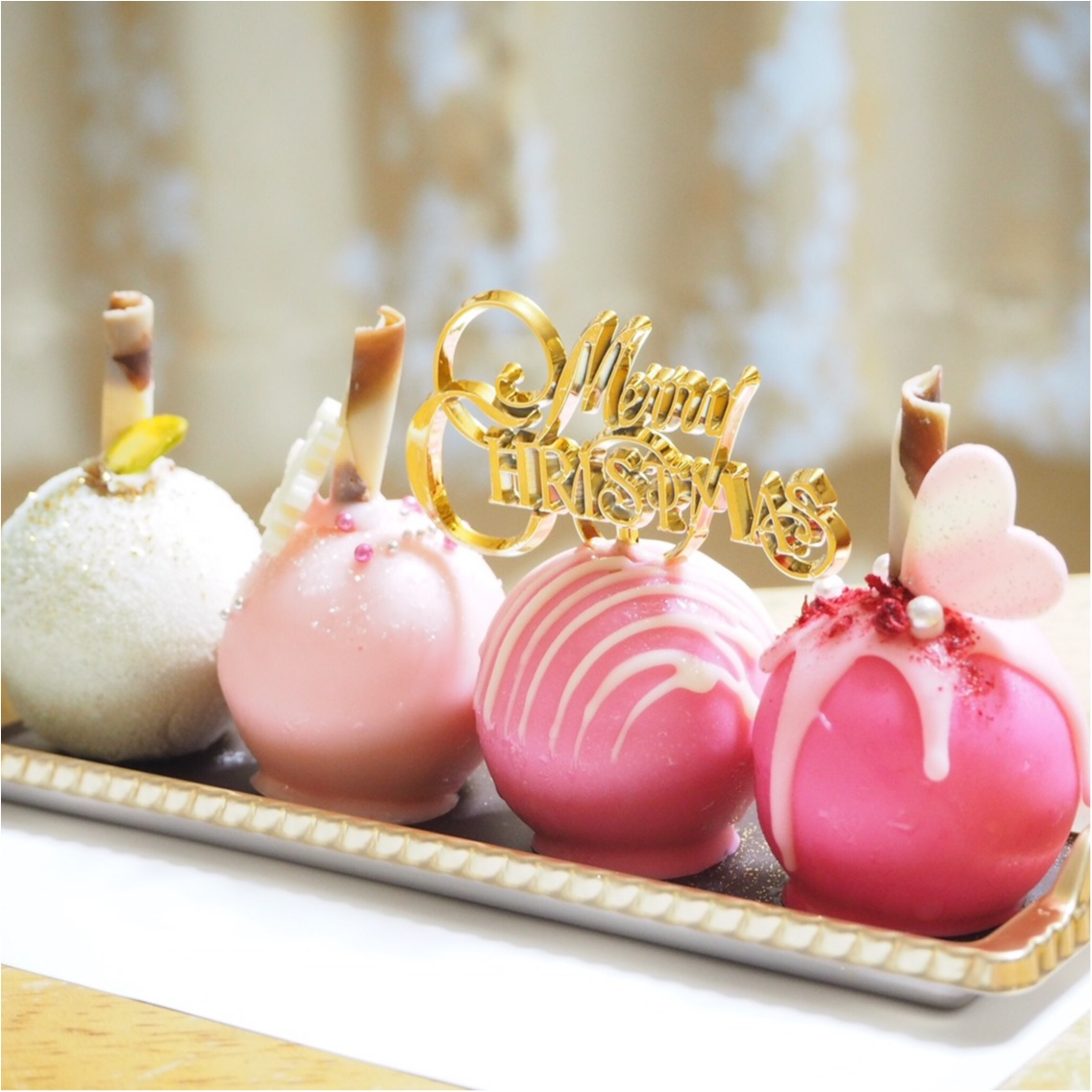 女子会に♡品川プリンスホテルの球体型クリスマスケーキ♡_3
