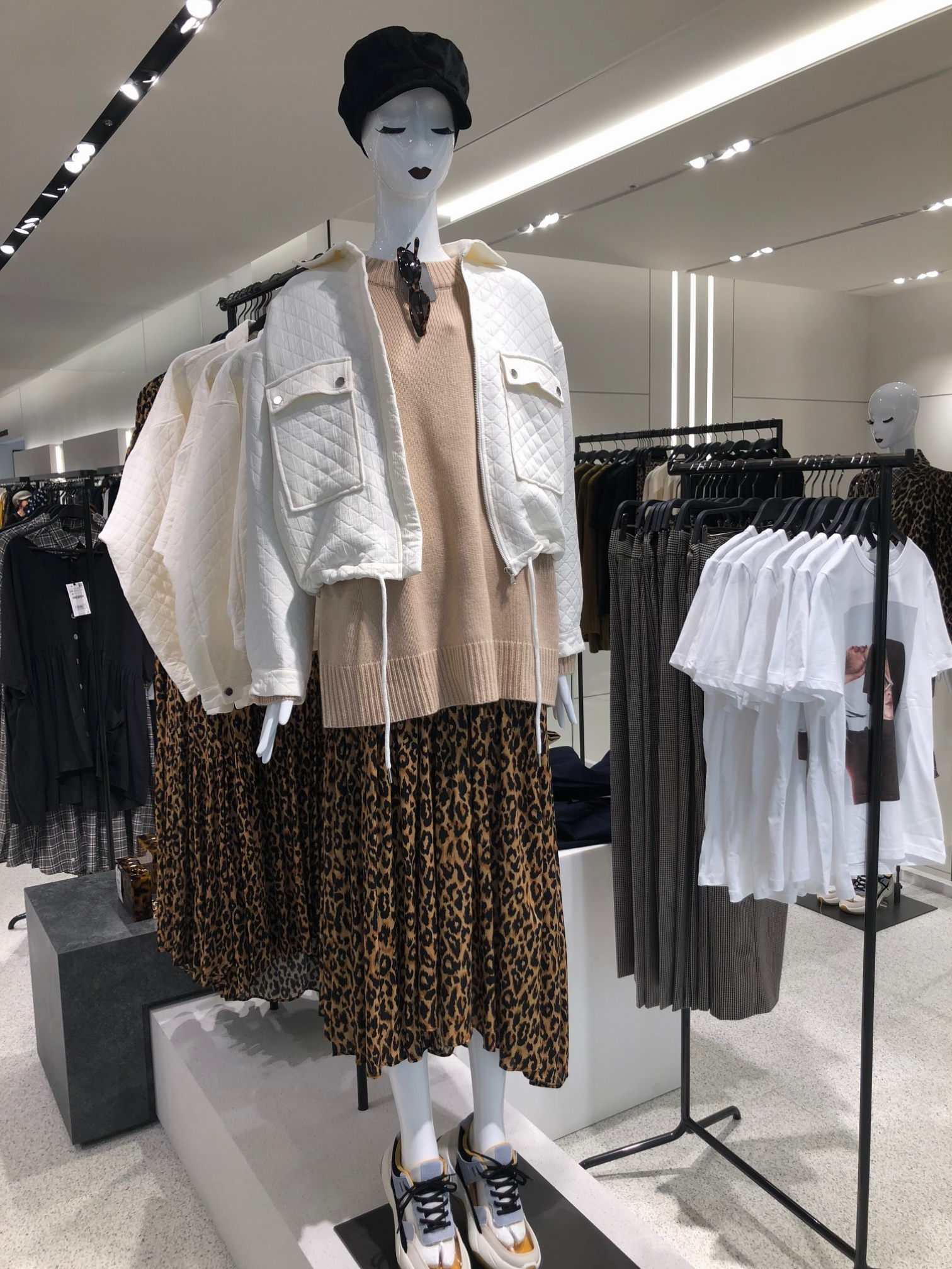 ZARA,ザラ,ファッション,秋,2018